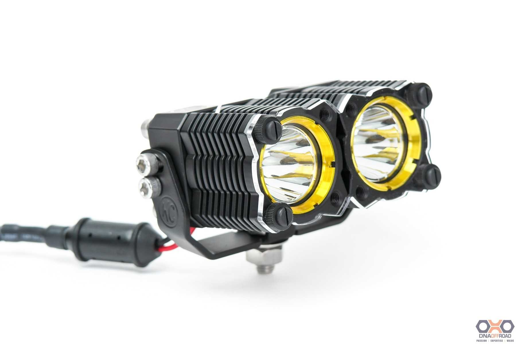 KC HiLiTES FLEX shield dual light