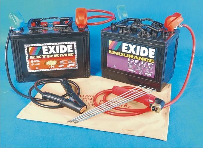 12/24V battery ARC welding kit