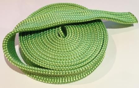 Winch rope protective sleeve for 8, 9,10,11,12mm ropes - per metre green