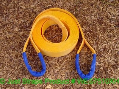Just Straps 75mm/10M extra heavy duty winch extension strap