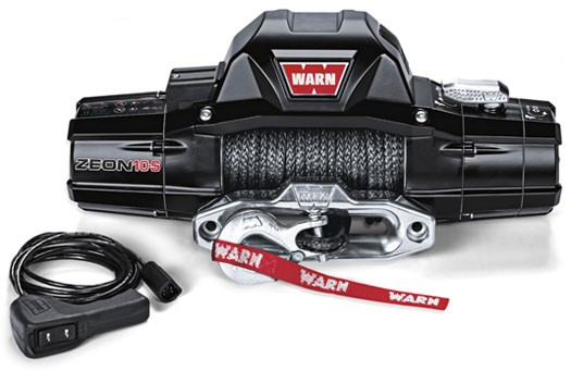 Warn Zeon 10-S with Spydura rope