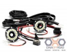 KC HiLiTES Cyclone LED 2 light universal under bonnet lighting kit