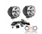 KC HiLiTES carbon POD HID light pair pack