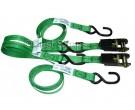 Just Straps Ratchet strap 25mmx1.6m light duty [pair]