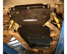 Brown Davis Isuzu Dmax 2008-2012 front, sump steering and diff guard
