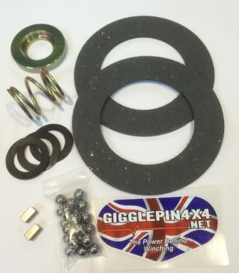 Gigglepin brake rebuild kit for Warn 8274 - GP winches
