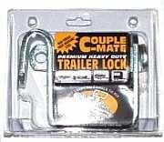 Small trailer lock