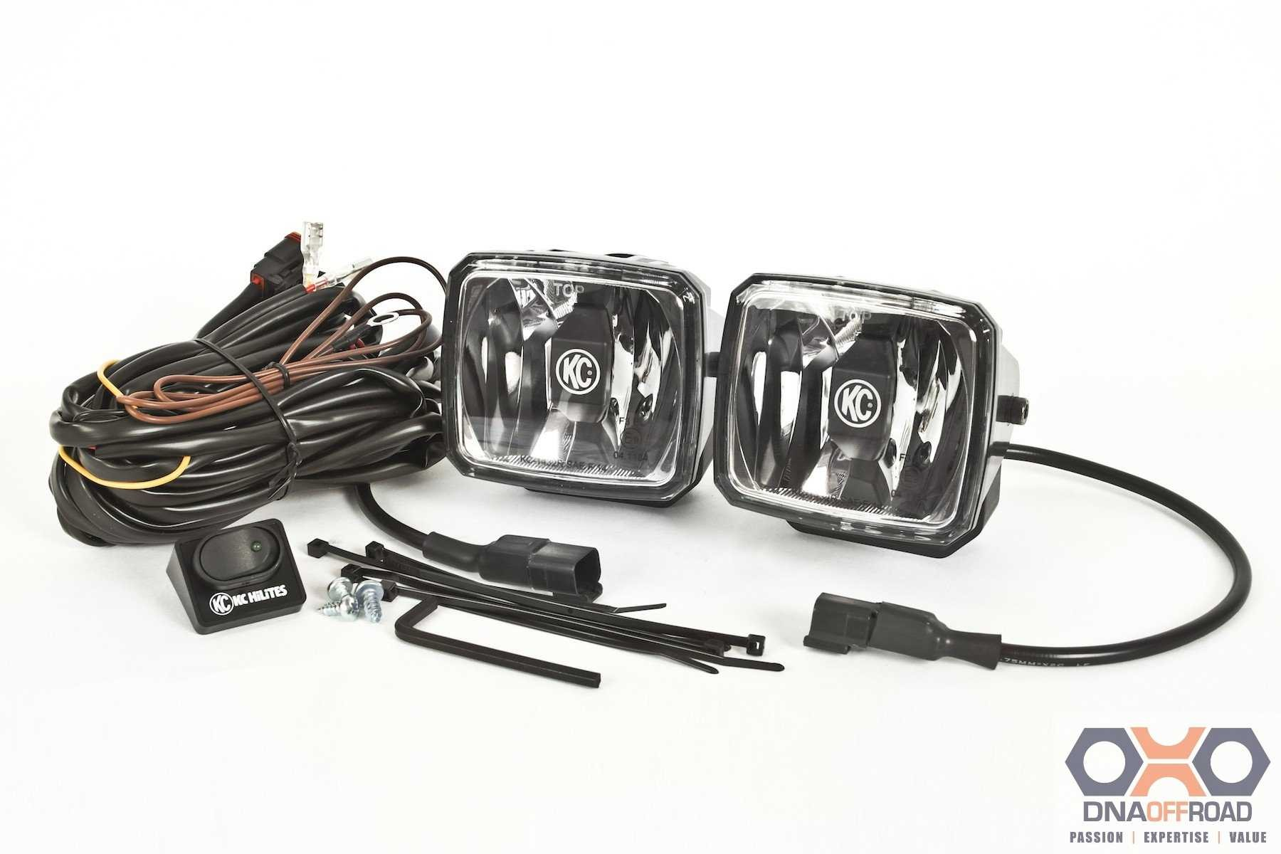 KC HiLiTES Gravity LED G34 pair pack