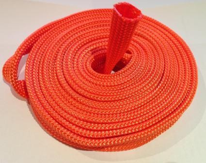 Winch rope protective sleeve for 8, 9,10,11,12mm ropes - per metre