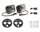 KC HiLiTES Chevy 2500/3500 Gravity LED G4 fog pair pack system