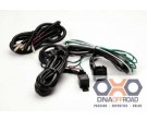 KC HiLiTES extended roof mount relay wiring harness