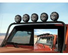 5-tab overhead light bar for Jeep Wrangler JK 2007-2016