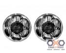 """KC HiLiTES Gravity LED Pro 7"""" headlight Jeep JK 07-17 pair pack"""