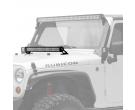 "KC HiLiTES 30"" C-Series C30 LED bar and hood mount bracket kit - Jeep JK 2007-2018"