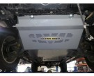 Brown Davis Mazda BT50 2012 on front sump and diff guard